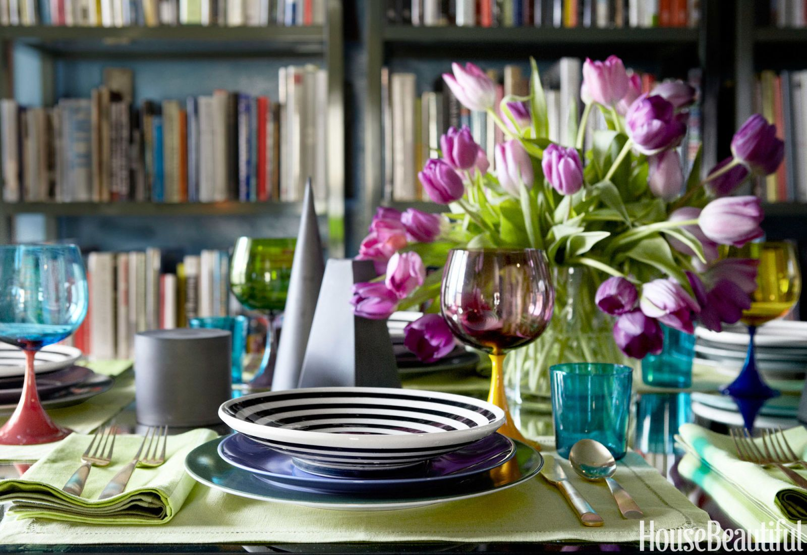 : modern table setting - pezcame.com