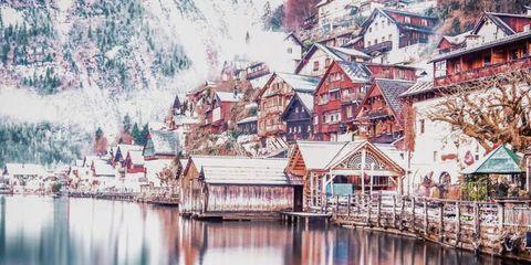 House, Art, Roof, Paint, Reflection, Watercolor paint, Artwork, Home, Painting, Art paint,