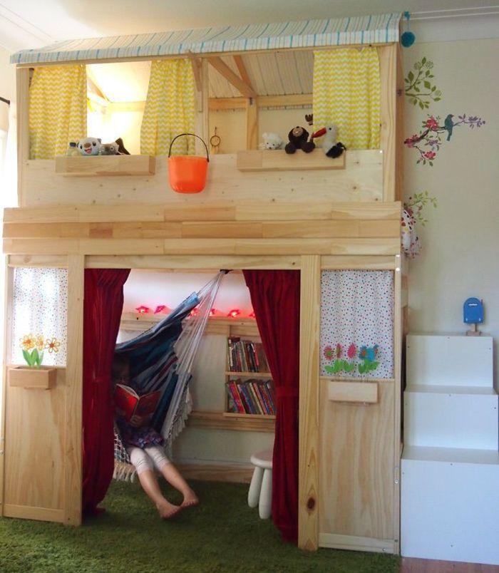 prodigious Ikea Hack Loft Bed Part - 1: House Beautiful