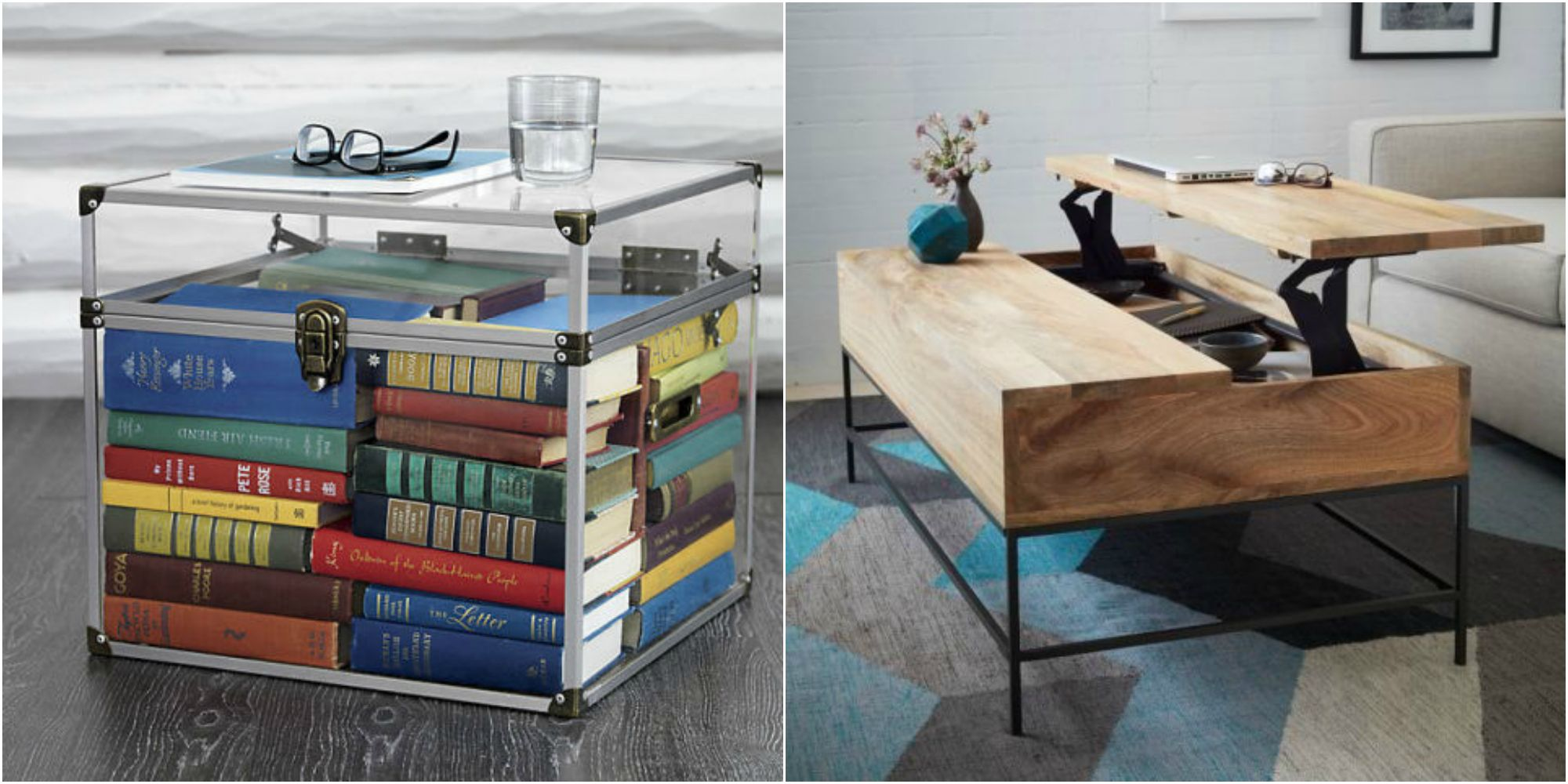 Coffee Table Storage Best Coffee Tables