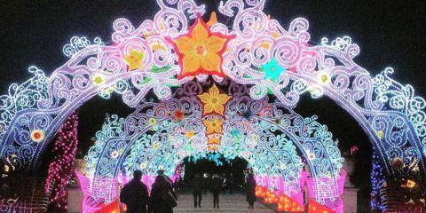 Pink, Magenta, Art, Tradition, Decoration, Symmetry, Holiday, Visual arts, Festival,