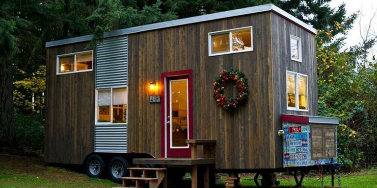 Tiny Home Tour With Big Kitchen - Unique Small Home Designs