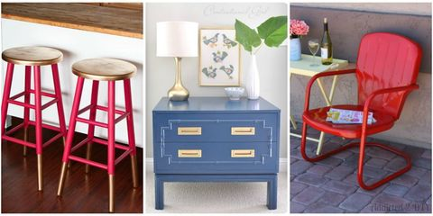 14 DIY Makeovers That Prove Spray Paint Is Magical