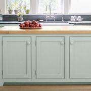 Mint Kitchen Cabinets