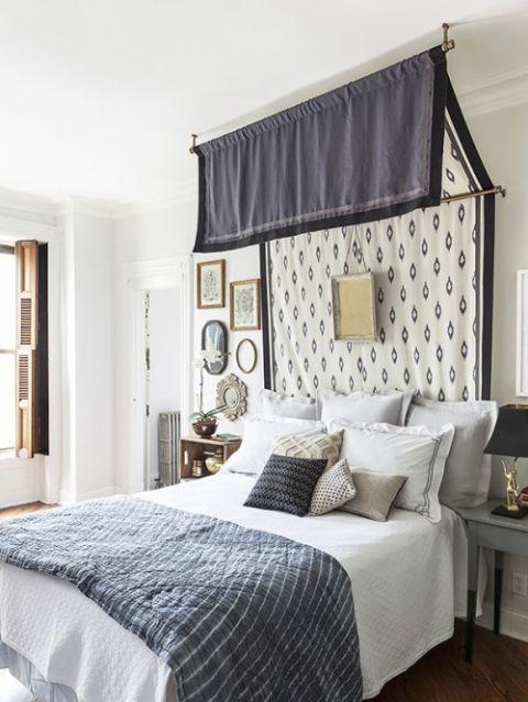 Bed, Room, Interior design, Property, Wall, Textile, Bedding, Floor, Bedroom, Furniture,