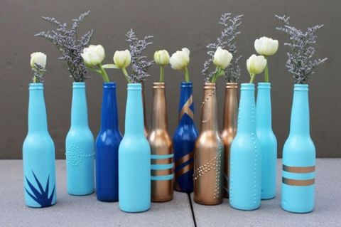 Blue, Bottle, Aqua, Teal, Turquoise, Artifact, Majorelle blue, Vase, Azure, Cut flowers,