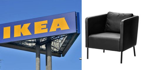 Blue, Furniture, Rectangle, Azure, Signage, Electric blue, Couch, Advertising, Majorelle blue, Material property,