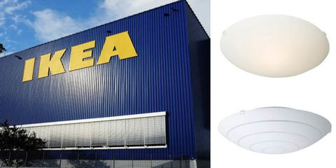 Watch Out If You Own These Glass IKEA Lamp Shades