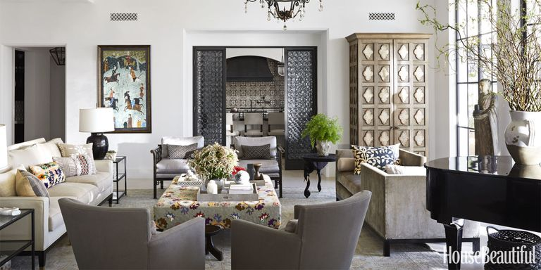 Modern moroccan decor betsy burnham interior design for Modern living room gadgets