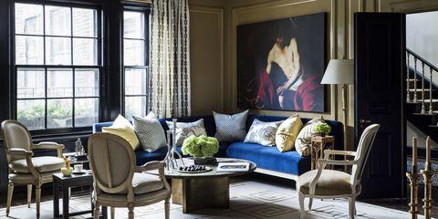 Interior design, Room, Floor, Furniture, Flooring, Home, Table, Living room, Couch, Interior design,