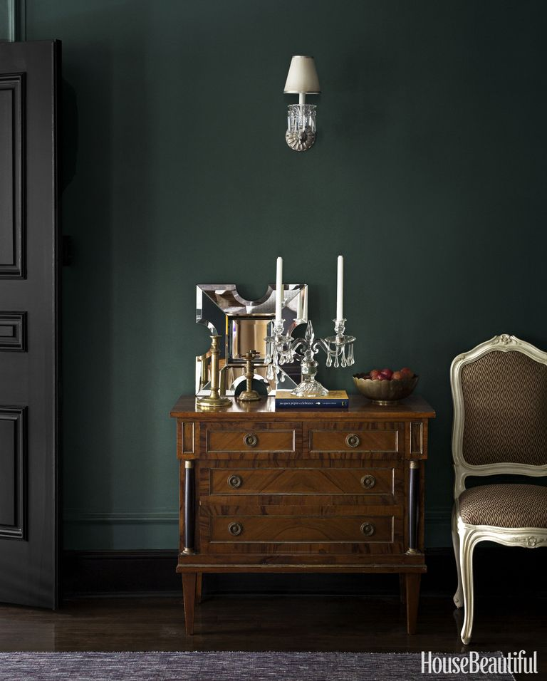 Forest Green Table Lamp