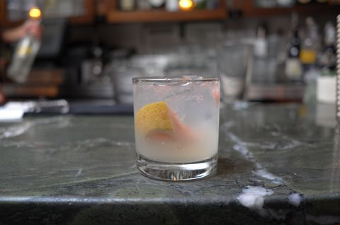 "<p>This gin-based cocktail is one of <a href=""http://stantonsocial.com/menus/cocktails/"" target=""_blank"">The Stanton Social</a> restaurant's most popular, with its combination of tart grapefruit and sweet lemon-and-lime simple syrup, but it's a synch to recreate at home.</p><p><strong>Ingredients:</strong><br>1 oz. Nolet's Silver Dry Gin<br>.75 oz. Maraschino Liqueur<br>.5 oz. Lemon/Lemon Simple Syrup<br>1 Wheel Fresh Grapefruit</p><p><strong>Directions:<br></strong>Muddle wheel of grapefruit in a cocktail shaker. Add the Maraschino liqueur, lemon/lemon simple syrup and gin. Shake and pour into rocks glass.</p><p><!--EndFragment--><i>Recipe courtesy of <a href=""http://www.noletsgin.com/"" target=""_blank"">Nolet's gin</a></i></p>"