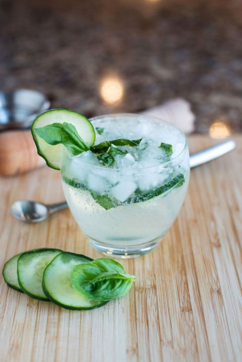 "<p>Gin and cucumber are a match made in cocktail heaven, but adding fresh basil takes the classic combo to a whole other level.</p><p><em>Recipe: </em><a href=""http://bsinthekitchen.com/the-gbc"" target=""_blank""><em>BS' In The Kitchen</em></a></p>"