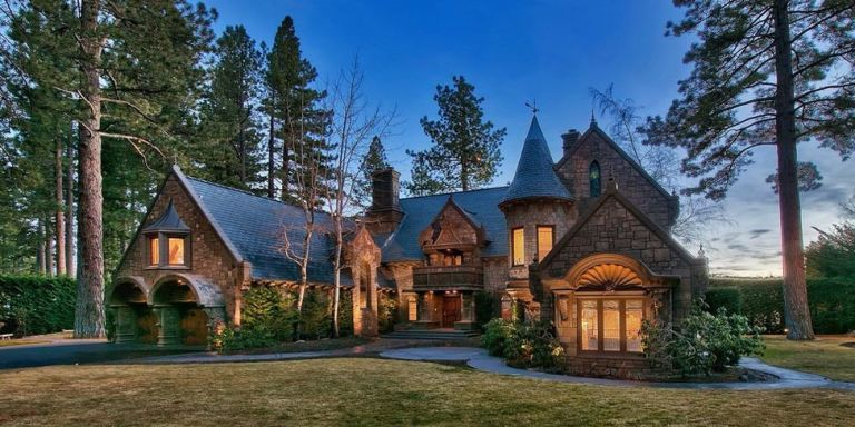 Castle on lake tahoe interior design of lake tahoe home for Lake tahoe architecture firms