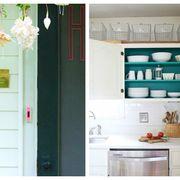 Room, Green, Interior design, White, Teal, Turquoise, Shelving, Cupboard, Aqua, Home,