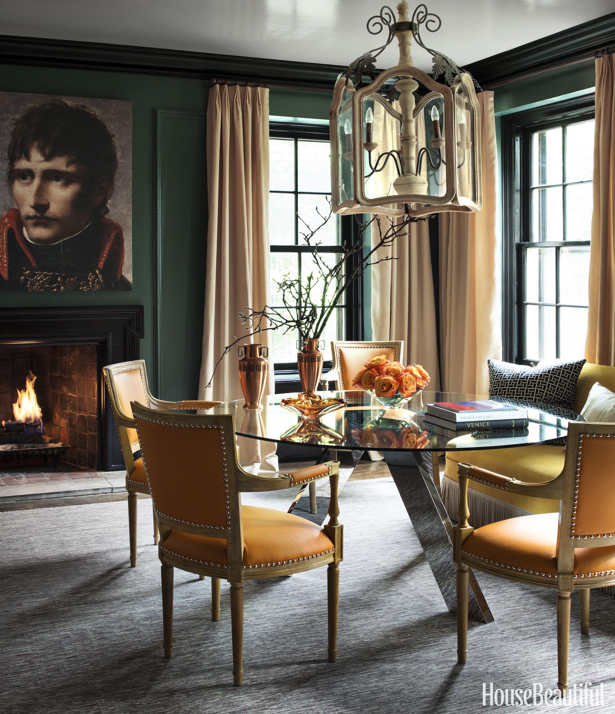Image. Paul Raeside. Forest Green Dining Room