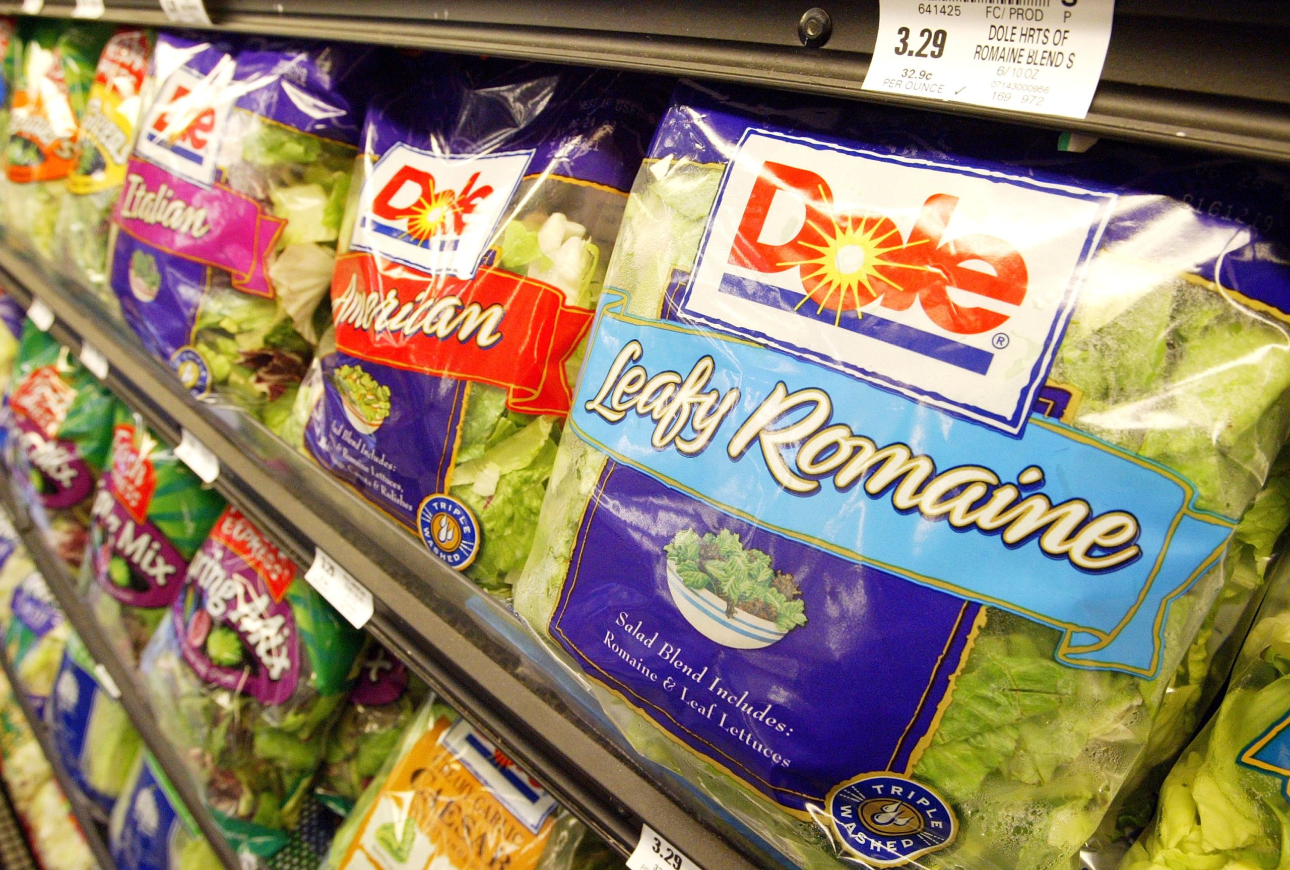 Dole Pre-Packaged Salads Recalled After Deadly Listeria Outbreak