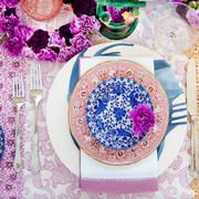 Serveware, Dishware, Purple, Textile, Violet, Pink, Magenta, Lavender, Porcelain, Pattern,