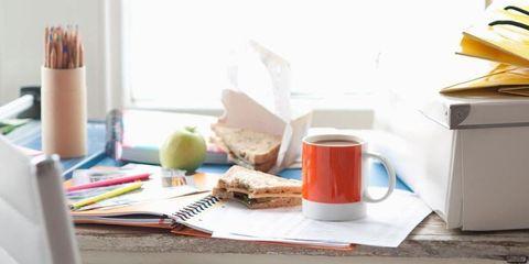 Serveware, Dishware, Drinkware, Coffee cup, Tableware, Cup, Ingredient, Plate, Kitchen utensil, Peach,