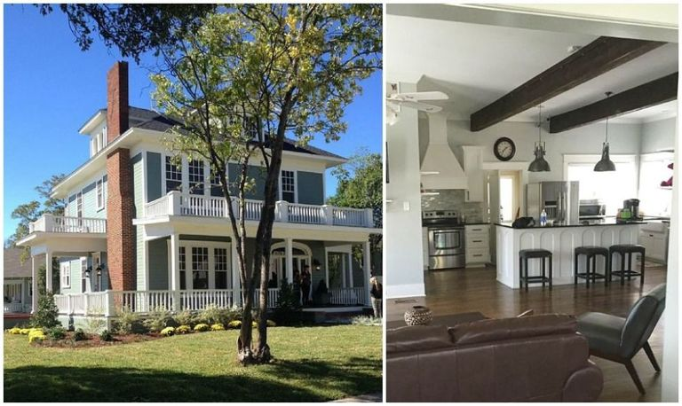 10 homes from hgtv shows on homeaway rent a home from for What happens to the houses on fixer upper