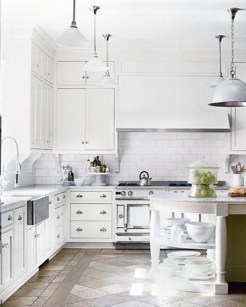 Kitchen Decor Ideas White Cabinets: 15 White Kitchen Design Ideas