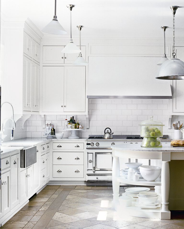 15 White Kitchen Design Ideas