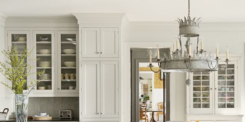 How to Pick Cabinets and Hardware for an All-White Kitchen