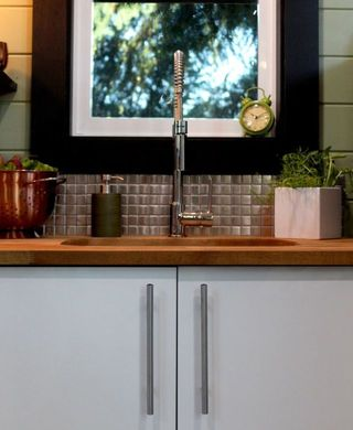 Flowerpot, Houseplant, Interior design, Picture frame, Clock,