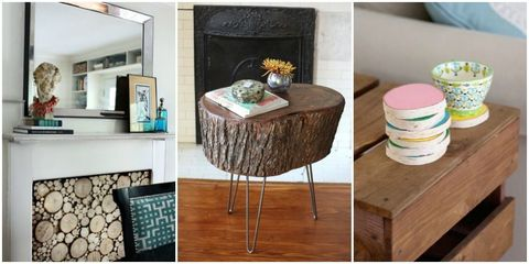 8 Decor Ideas That Started With Fallen Trees