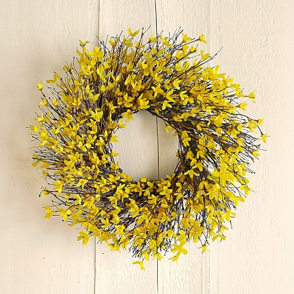 Spring Door Wreath Ideas Part - 42: House Beautiful