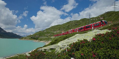 The Highest Rail Crossing in Europe Is a Magical Mountain Express