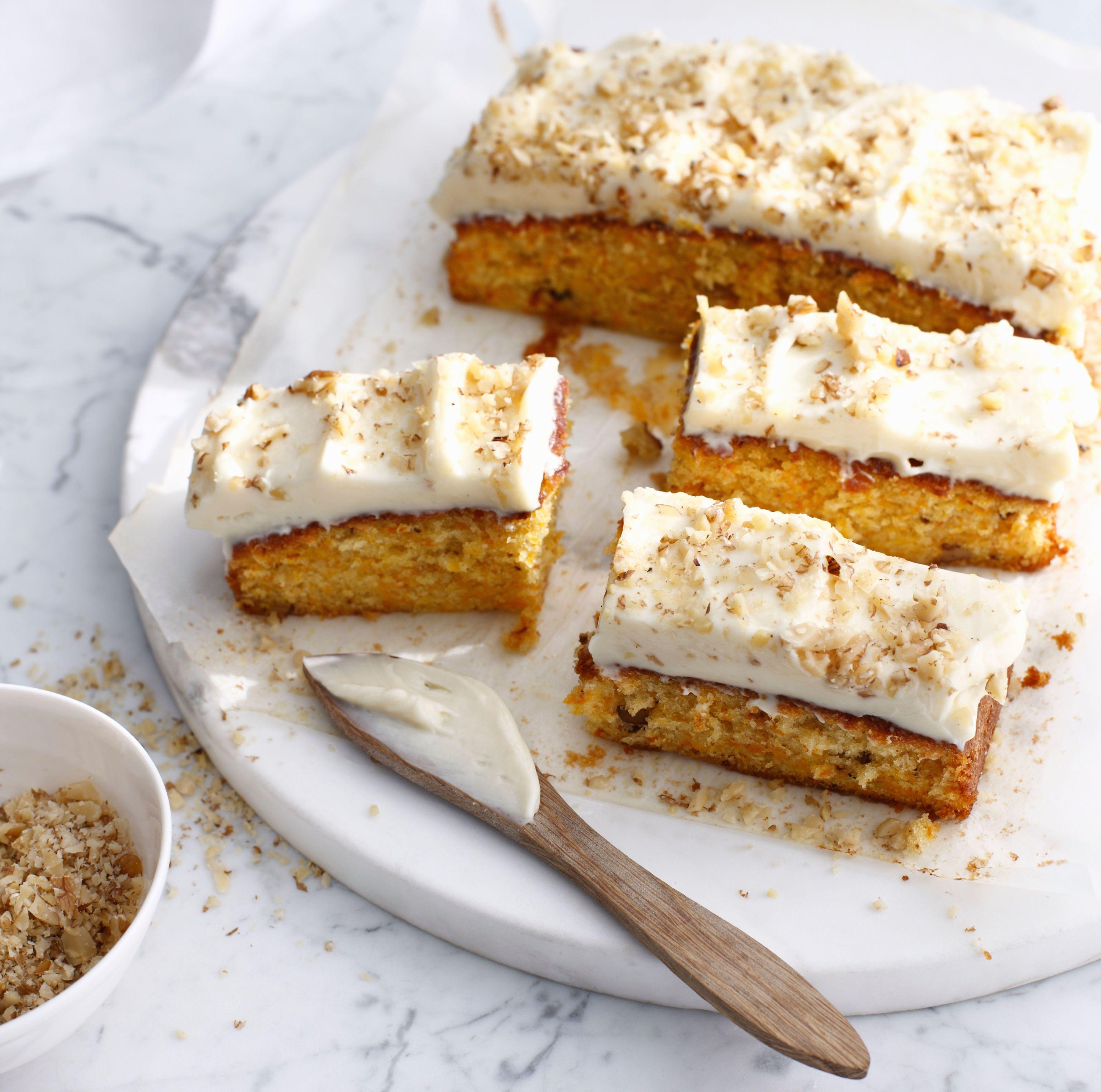 Fluffy Carrot Cake