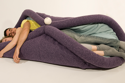 This Weird, Foldable Sofa Can Mold to Many Shapes