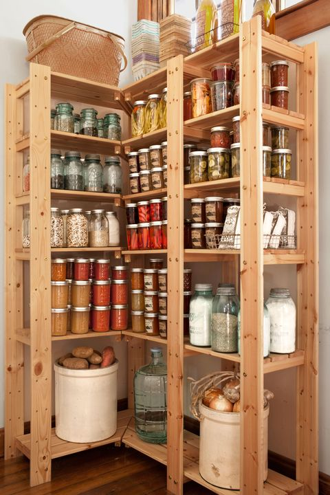 Shelf, Shelving, Collection, Plywood, Pantry, Display case, Food storage containers, Barrel, Cabinetry,