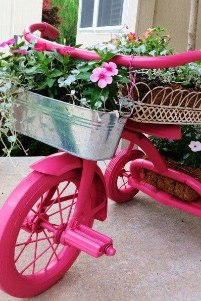 bike container garden