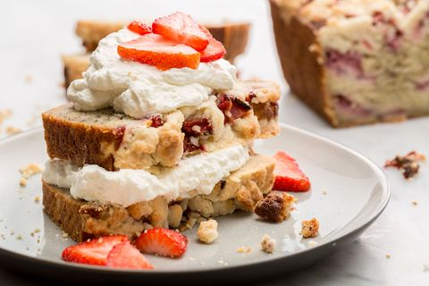 Strawberry Shortcake Banana Bread Is the Best Early-Spring Treat