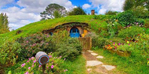 Hobbit film set