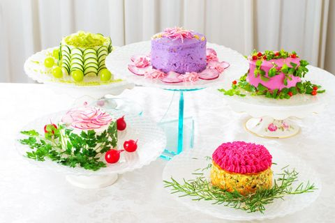 These Beautiful Cakes Are Actually Healthy Salads
