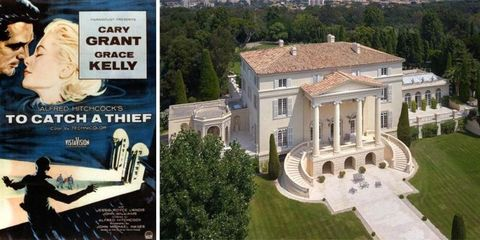 """To Catch a Thief"" movie mansion"