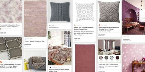 Behold: Pinterest's Home Colors of the Year Are Here