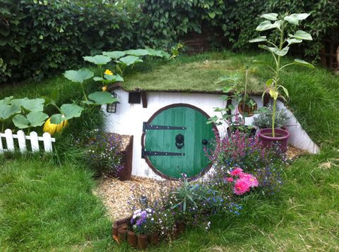 Here's How One DIY Pro Built His Own Backyard Hobbit Hole