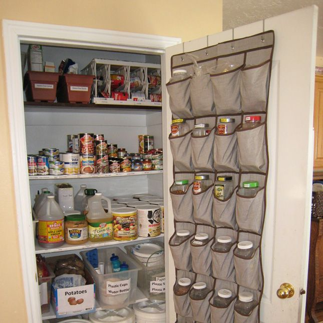 New Uses For A Hanging Door Shoe Organizer Home Storage Hacks,How To Clean A Kitchen Sink Faucet