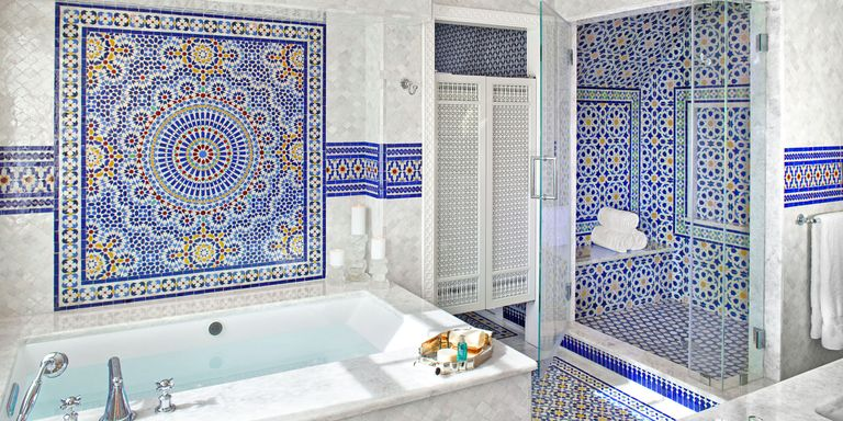 Spain  48 Bathroom Tile Design Ideas Backsplash and Floor Designs