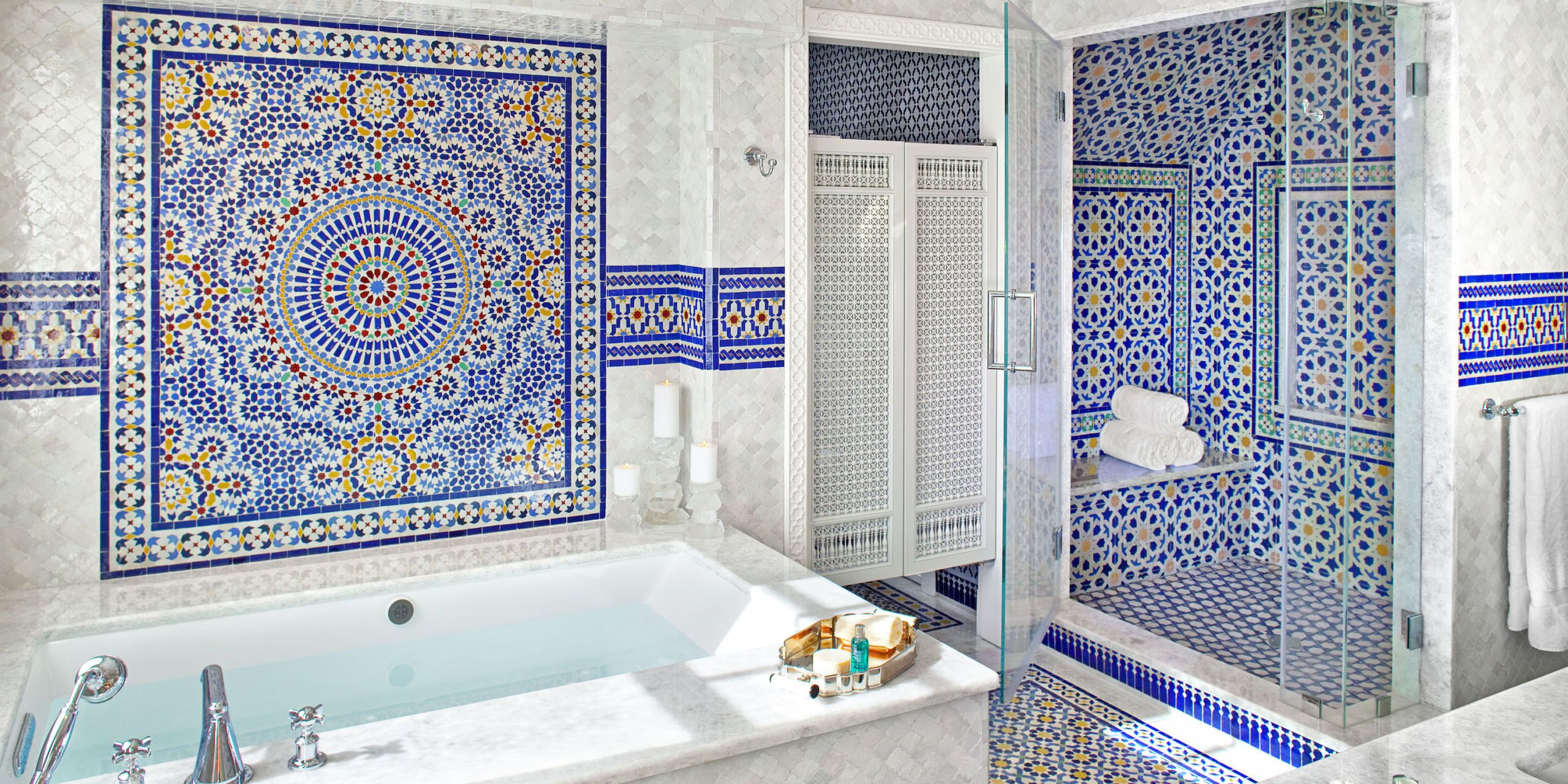 Beau 48 Eye Catching Bathroom Tile Ideas