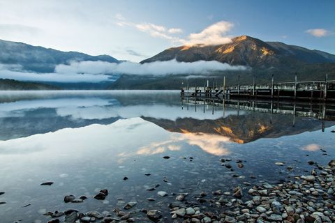 Nelson Lakes National Park in New Zealand