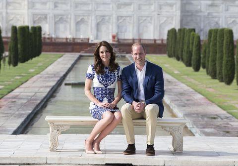 Kate Middleton Taj Mahal