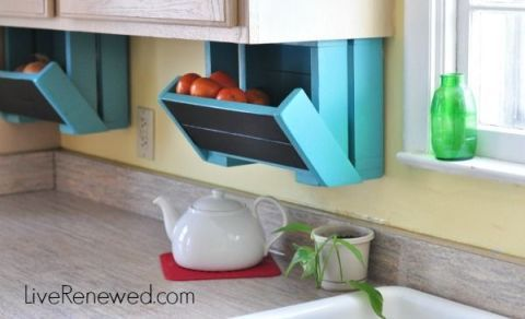backsplash storage
