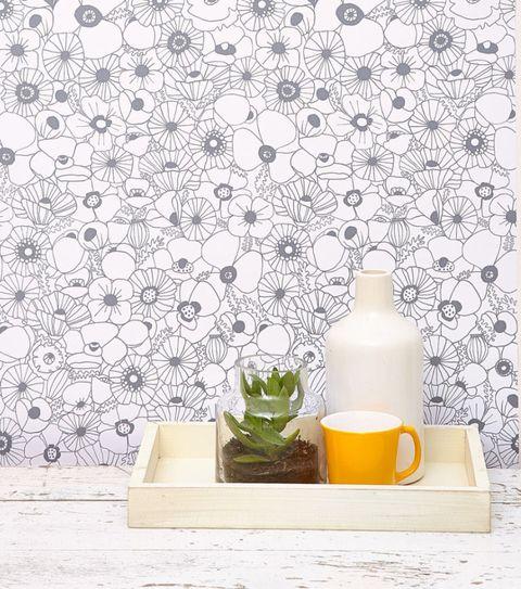 Image Chasing Paper Fl Wallpaper