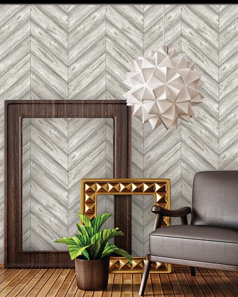 Image Tempaper Herringbone Wallpaper