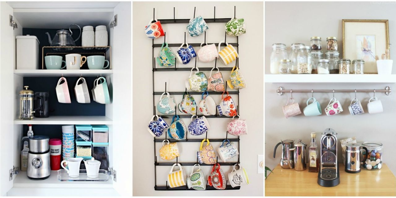 10 Crazy Cute Ways to Organize Your Coffee Cups